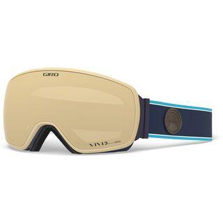 Giro Agent inkl. WS, midnight element/Lens: vivid copper - Skibrille