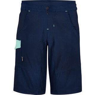 Cube Junior Baggy Shorts inkl. Innenhose blue´n´mint