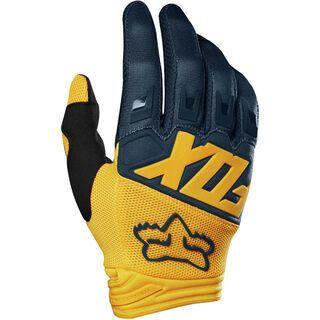 Fox Dirtpaw Glove, navy/yellow - Fahrradhandschuhe