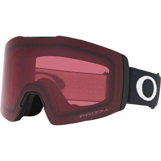 Oakley Fall Line XM Prizm, matte black/Lens: dark grey - Skibrille