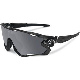 Oakley Jawbreaker, polished black/black iridium polarized - Sportbrille