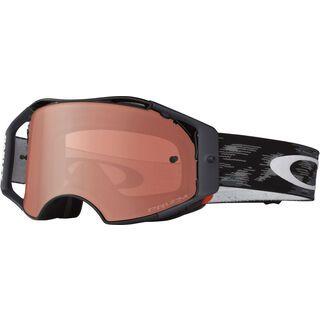 Oakley Airbrake MX Prizm, jet black/Lens: bronze - MX Brille