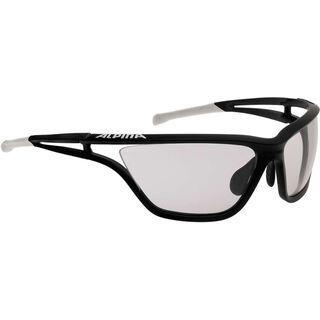 Alpina Alpina Eye-5 VL+, black matt white/Lens: varioflex+ black - Sportbrille