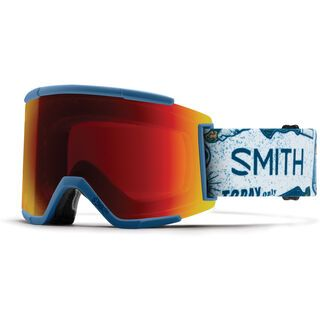 Smith Squad XL inkl. Wechselscheibe, kindred/Lens: sun red mirror chromapop - Skibrille