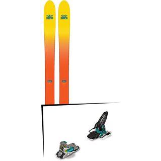 Set: DPS Skis Wailer F112 2017 + Marker Jester 16 (377329)