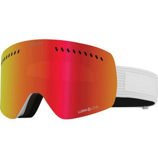 Dragon NFXs inkl. WS, corduroy/Lens: lumalens red ion - Skibrille