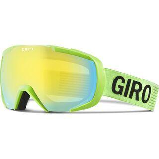 Giro Onset, highlight yellow monotone/loden yellow - Skibrille