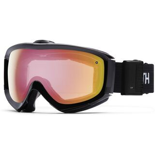 Smith Prophecy Turbo Fan, black/red sonsor mirror - Skibrille