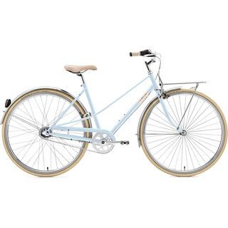 Creme Cycles Caferacer Lady Solo, 3 Speed, sky blue - Cityrad