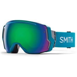 Smith I/O 7 + Spare Lens, pacific/green sol-x mirror - Skibrille