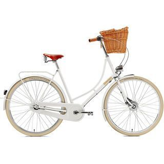 *** 2. Wahl *** Creme Cycles Holymoly Lady Doppio 2015, white - Cityrad | Rahmenhöhe 54 cm