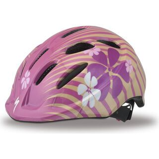 Specialized Small Fry Child, Pink Flowers - Fahrradhelm