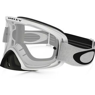 Oakley O2 MX, matte white/Lens: clear - MX Brille