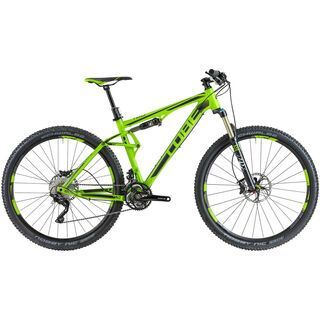 Cube AMS 120 HPA Race 29 2014, green/black - Mountainbike