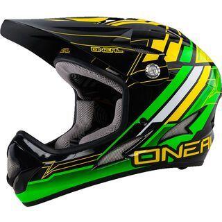 ONeal Backflip Fidlock DH Helmet Evo Pinner, green - Fahrradhelm