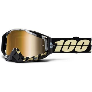 100% Racecraft, ergoflash/Lens: mir true gold - MX Brille