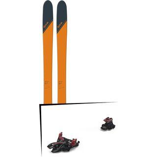 Set: DPS Skis Wailer 99 2018 + Marker Alpinist 12 (2319300)