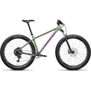 Santa Cruz Chameleon D 27.5 Plus 2018, olive/violet - Mountainbike
