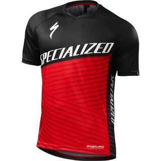 Specialized Enduro Comp Jersey SS, red - Radtrikot