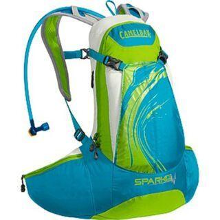 Camelbak Spark 10 LR, blue jewel/chartreuse - Fahrradrucksack