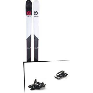 Set: Völkl BMT 90 2019 + Marker Alpinist 9 Long Travel black/titanium