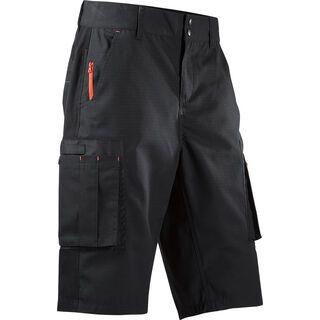 Cube Work Shorts black´n´red