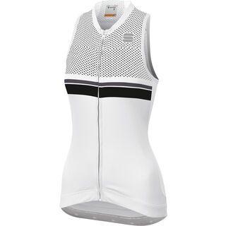 Sportful Diva 2 Sleeveless, white/black/anthracite - Radtrikot