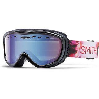Smith Cadence + Spare Lens, pepper inkblot/blue sensor mirror - Skibrille