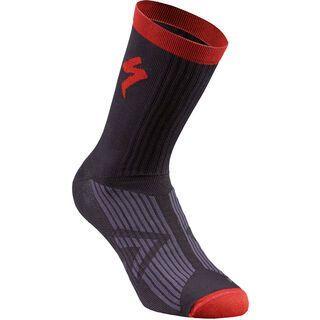 Specialized SL Elite Summer Sock, black/red - Radsocken