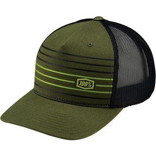 100% Insurgent Snapback Hat, fatigue - Cap
