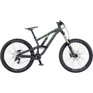 Scott Voltage FR 730 2016, anthracite/green - Mountainbike