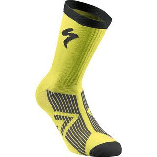 Specialized SL Elite Summer Sock, neon yellow/black - Radsocken