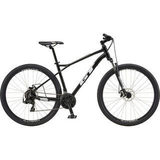 GT Aggressor Sport 27.5 2020, black/white - Mountainbike