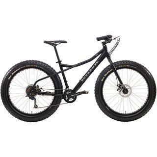 Kona Wo 2014, matt black/grey - Mountainbike