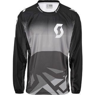 Scott DH l/sl Shirt, black/neutral grey - Radtrikot