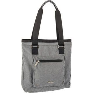 Nitro Tote Bag, faded black - Shopper