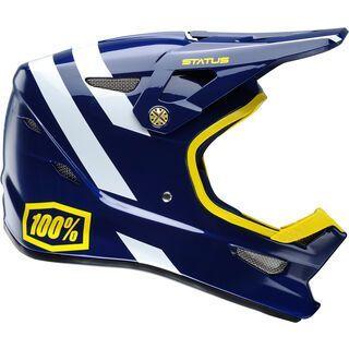 100% Status DH/BMX Helmet, midnight meteor - Fahrradhelm