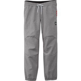 Adidas Lazy Man Softshell Pant, core heather - Softshellhose