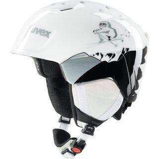 uvex manic, white yeti - Skihelm