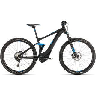 Cube Stereo Hybrid 120 Race 500 27.5 2019, black´n´blue - E-Bike