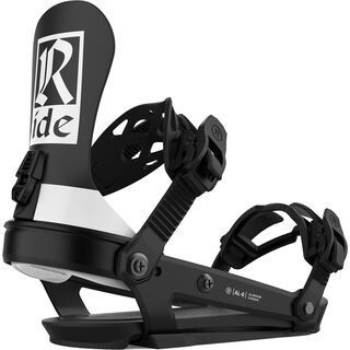 Ride AL-6 2021, classic black - Snowboardbindung