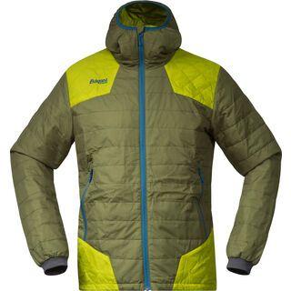 Bergans Nibbi Insulated Jacket, green lime sea - Thermojacke