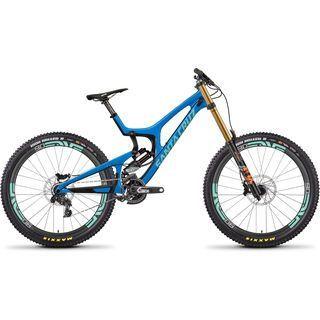 Santa Cruz V10 CC X01 RockShox Vivid Air ENVE 2018, blue/mint - Mountainbike