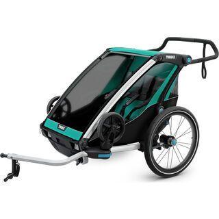 Thule Chariot Lite 2 blue grass/black 2019