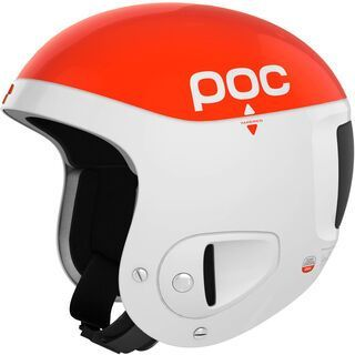 POC Skull Comp 2.0, Orange/White - Skihelm