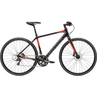 Cannondale Quick Speed 2 2016, black/red - Fitnessbike