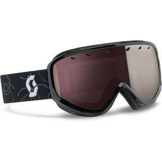 Scott Capri, black/silver chromeome - Skibrille