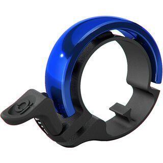 Knog Oi Bike Bell - Large, black/blue - Fahrradklingel