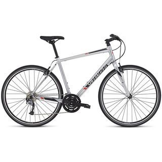 Specialized Sirrus Sport 2016, silver/black/red - Fitnessbike