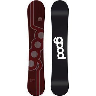 goodboards Vulcano Camber X-Wide 2017, schwarz - Snowboard